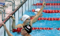 Swimming: Melanie Schlanger, Olympic Champion